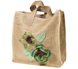 Hessian Reuseable Bag